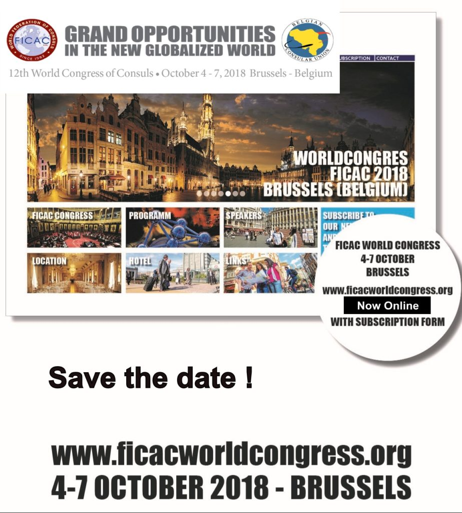 12th world congress of consuls brussels belgium 04 07 for List of consuls